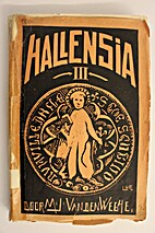 Hallensia III by M.-J. Van Den Weghe