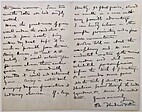Letter about planting of Roman period barley…