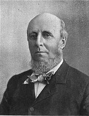 Author photo. Photograph of James Burrill Angell. 1897 Michiganensian (University of Michigan yearbook), p. 5.