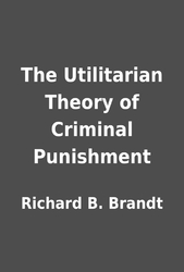 theories of criminal punishment