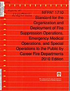 NFPA 1710 Standard for the Organization and…