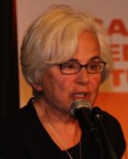 Author photo. Ellen Meiksins Wood (2012)