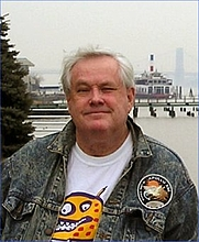 Author photo. Taken by Robert Ballard in Fort Lee, NJ