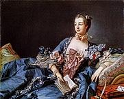 Author photo. Madame de Pompadour by François Boucher (c. 1758), National Gallery of Scotland