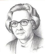 Author photo. Albarta Meulenbelt-Nieuwburg (1917–1981)