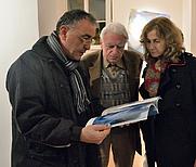 Author photo. Roberto Mancini, Sergio Bertelli (al centro), Ileana Florescu