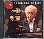 The Last Recital for Israel [Audio…