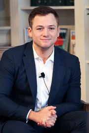 Author photo. Taron Egerton