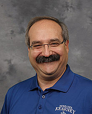 Author photo. University of Nebraska, Kearney faculty photo