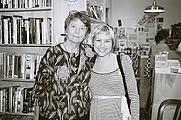 Author photo. Cathy Wilkerson on left Thomas Good (Wikipedia)