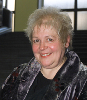 """Author photo. Liz Lochhead, author of """"Dreaming Frankenstein"""" and """"True Confessions"""" Photo by Graham Clark"""
