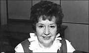 Author photo. Jean Metcalfe was one of Britain's best-loved radio personalities.