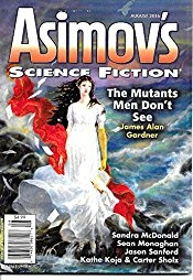 Asimov's Aug 2016 cover