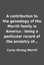 A contribution to the genealogy of the…