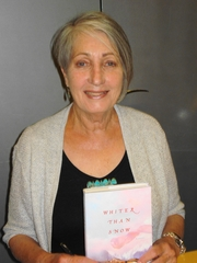 Author photo. Sandra Dallas, author of Whiter Than Snow, The Persian Pickle Club, etc., in Phoenix.