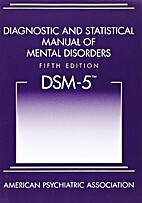 DSM-5 Diagnostic and Statistical Manual of…