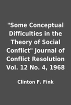 Some Conceptual Difficulties in the Theory…