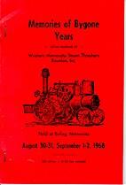 Memories of Bygone Years: Official Handbook…