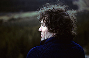 Author photo. Jim Perrin on a climb in North Wales, 1984. Photo by Pat Ament.