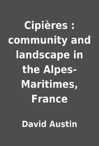 Cipières : community and landscape in the…