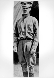 Author photo. 1909 photo about to fly with Orville Wright (US Air Force photo)