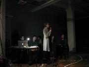 Author photo. Christiane Paul at Light Industry, Brooklyn, NY, 2009