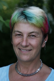 """Author photo. From <a href=""""http://en.wikipedia.org/wiki/Image:Susan_blackmore.jpg"""">Wikipedia</a>. Photo of Susan Blackmore. Released by Blackmore after a personal request to her for a public domain photo."""