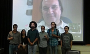 "Author photo. José Luis Mejía (Skype), Benjamín Edwards, Patricia Barreto, Zejo Cortez, Omar Camino, Cristian Vergara By Ficotraspoting - Own work, CC BY-SA 3.0, <a href=""https://commons.wikimedia.org/w/index.php?curid=31179495"" rel=""nofollow"" target=""_top"">https://commons.wikimedia.org/w/index.php?curid=31179495</a>"