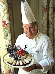 Author photo. White House photo