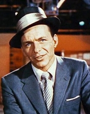 Author photo. Frank Sinatra