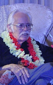 Author photo. Kelly Freas at his 82nd birthday party by The Epopt
