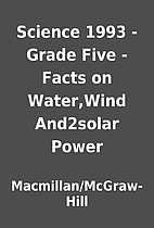 Science 1993 -Grade Five -Facts on…