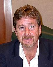 Author photo. John Burlinson, Nov. 3, 2007