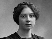 Author photo. Sigrid Undset - photo: Eivind Enger, Kristiania, 1905