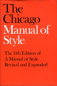 chicago manual of style book citation