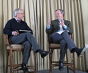 Author photo. Interview of Eric Schmidt by Gary Hamel at the MLab dinner tonight. Google's Marissa Mayer and Hal Varian also joined the open dialog about Google's culture and management style, from chaos to arrogance. The video just went up on YouTube. It's quite entertaining. By Steve Jurvetson from Menlo Park, USA - Party Line Dance, CC BY 2.0, <a href=&quot;//commons.wikimedia.org/w/index.php?curid=7852247&quot; rel=&quot;nofollow&quot; target=&quot;_top&quot;>https://commons.wikimedia.org/w/index.php?curid=7852247</a>