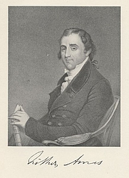 Author photo. Fisher Ames (1758-1808), Project Gutenberg (Wikipedia)