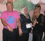 Author photo. Robert Dalby and Cathryn Michon<br> at the 2007 Pulpwood Girlfriends weekend, Marshall, Texas <br>flank one of the Pulpwood Queens during <br>the photo sessions at the Hair Ball<br>  Copyright © 2007 <a href=&quot;http://ronhogan.tumblr.com&quot;>Ron Hogan</a>