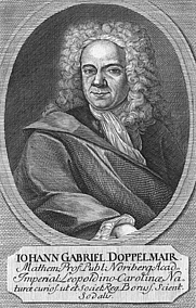 Author photo. Johan Gabriel Doppelmayr. Wikimedia Commons.