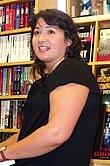 Author photo. Lesa Holstine, 7/21/07