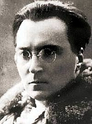 Author photo. Victor Serge, early 1900s.