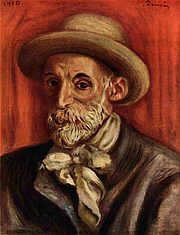 Author photo. Self-Portrait, 1910.