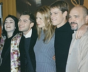 Author photo. Cast and director of Talented Mr Ripley at the 2000 Berlinale, left-right: Stefania Rocca, Jude Law, Gwyneth Paltrow, Matt Damon, Anthony Minghella. Photo by <a href=&quot;http://www.flickr.com/people/howie_berlin/&quot;>Michael Wiener</a>.