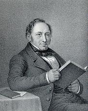Author photo. Image from:  J. P. Trap: berømte danske mænd og kvinder, 1868.