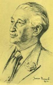 "Author photo. From cover of <i>Sir John Wheeler-Bennett: Special Relationships""</i>"