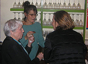 Author photo. Joan Silber (center) at the post-ceremony <br>reception at 3rd annual Story Prize <br>  Copyright © 2007 <a href=&quot;http://ronhogan.tumblr.com&quot;>Ron Hogan</a>