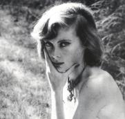 Author photo. Lady Caroline Blackwood photographed by Walker Evans