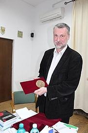 Author photo. Zoltán Kántor [credit: Horváth László]