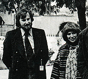 Author photo. Geoff and Faith Whiten at Chelsea Flower Show
