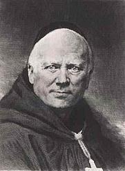 Author photo. Image of Dom Prosper Guéranger (1805–1875). Printmaker was Claude-Ferdinand Gaillard (1834–1887). Created 1874, published 1878 or earlier.